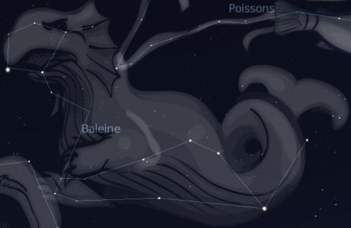La galaxie Superman NGC 157 Baleine