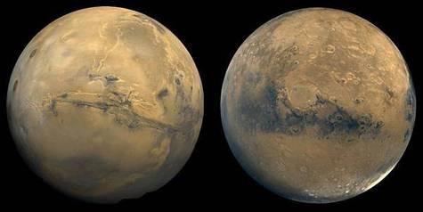 Globe martien