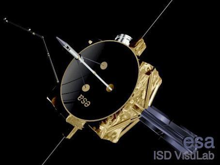 La sonde Ulysses (Crédits : ESA)